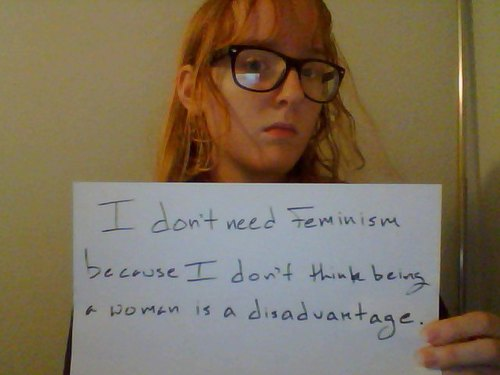 Disadvantage-feminism
