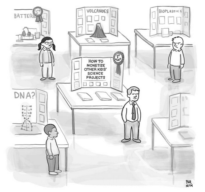Image Source: Paul Noth via The New Yorker