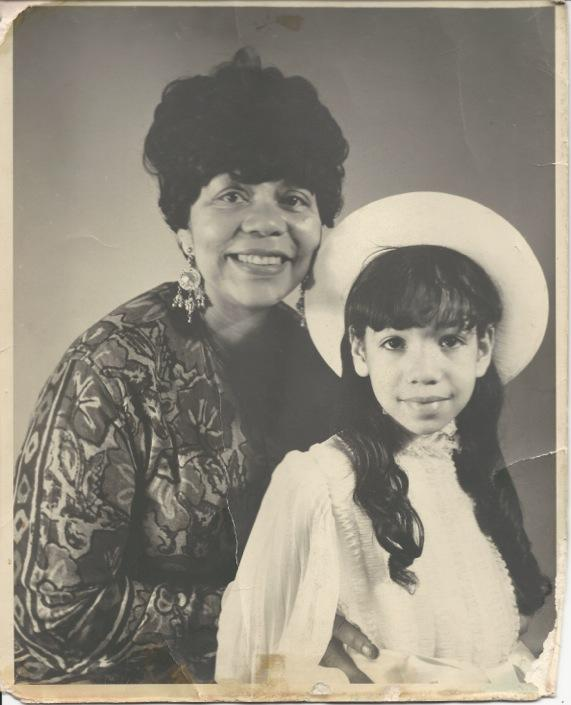 Author, JP Howard and her Mama, Easter Sunday, circa 1970's