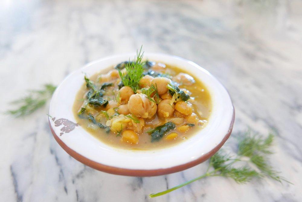 taste: moroccan chickpeas