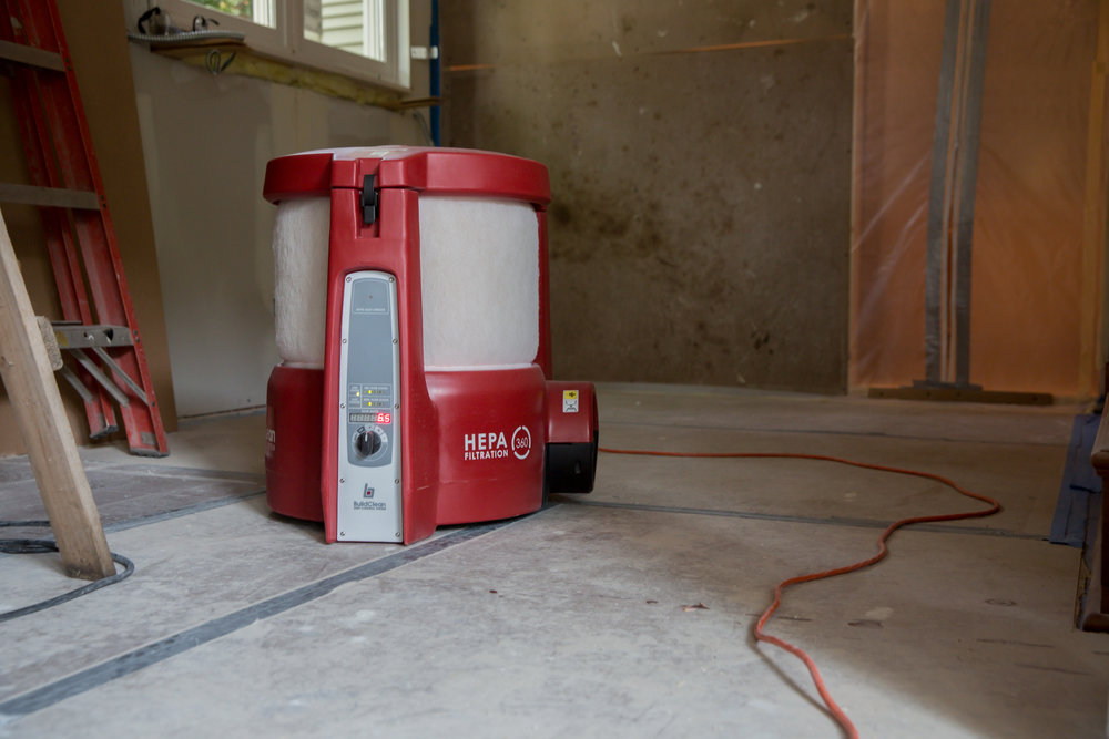 Livable Remodels - Morganco has invested heavily into a dust management program that dramatically reduces airborne dust by up to 90%, keeping our projects safe and tidy.