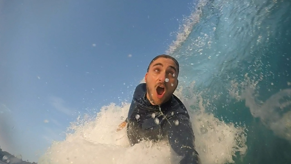 Sam Weiss: Reef specialist, and barrel face extraordinaire