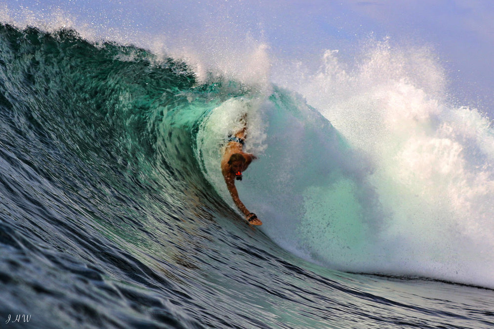 Corey Sainsbury Bodysurfer