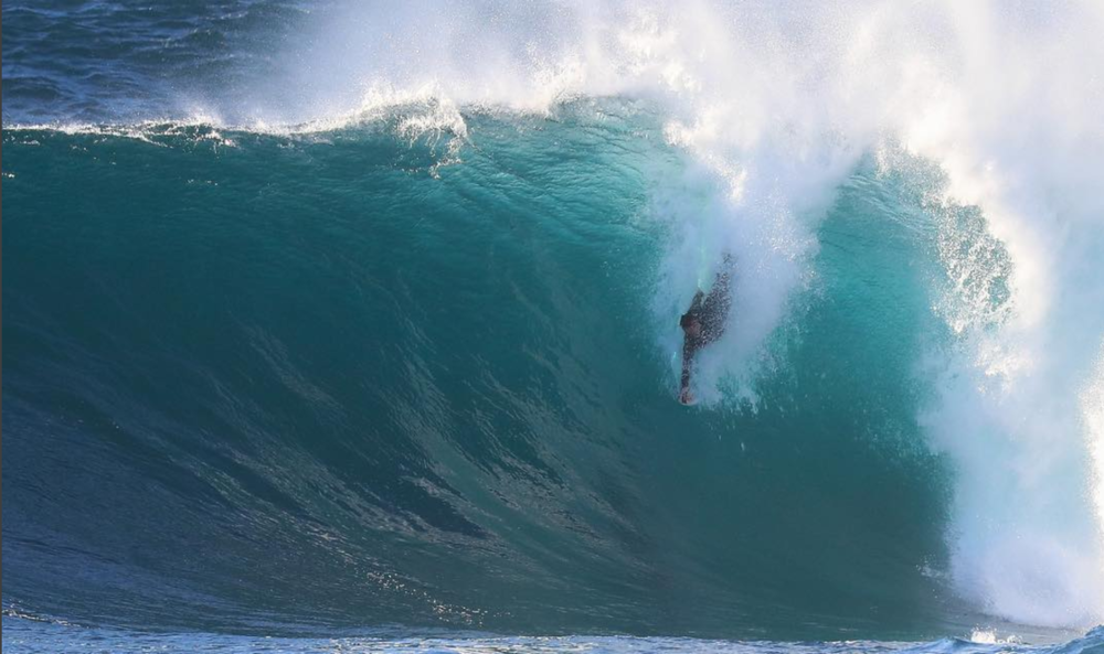 Nick Brbot Bodysurfer