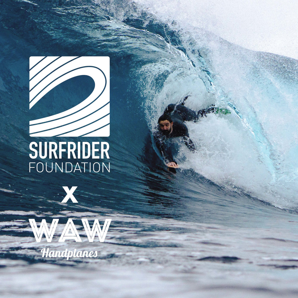 waw handplanes surfrider collaboration
