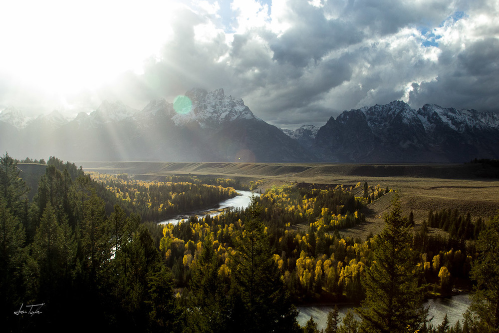 Snake River Overlook-Wyoming