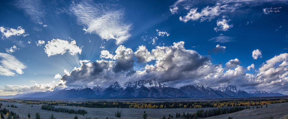 Grand Teton Panoramic - Wyoming