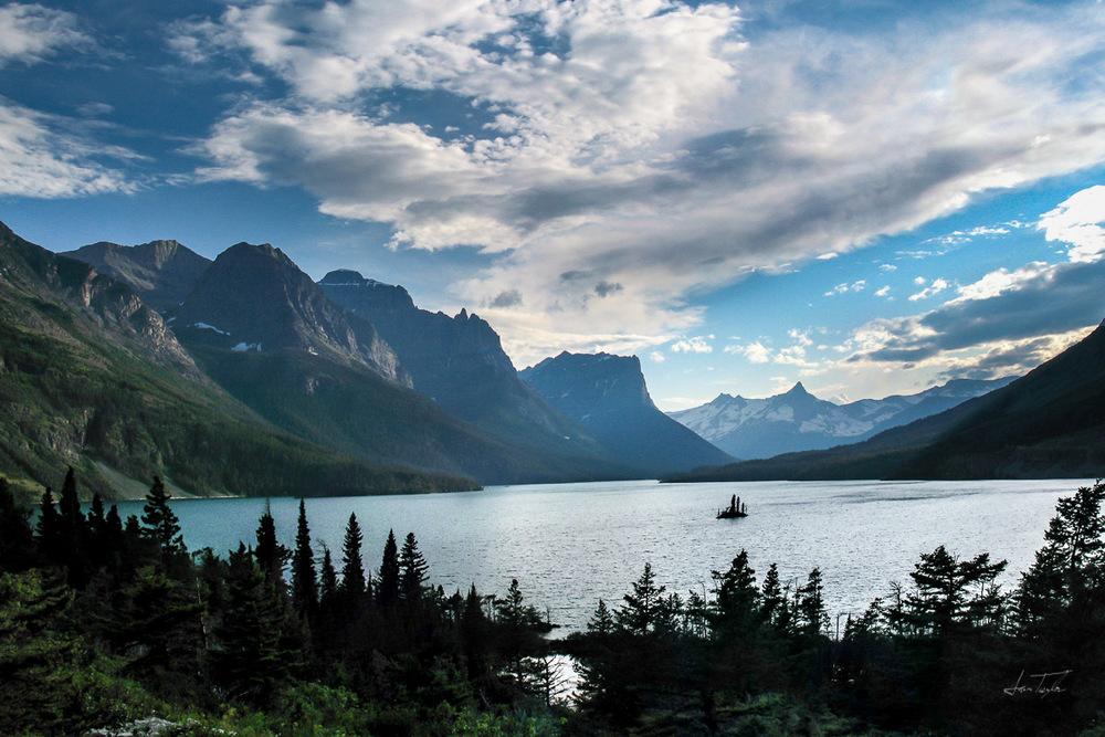 Goose Island (Glacier) - Montana