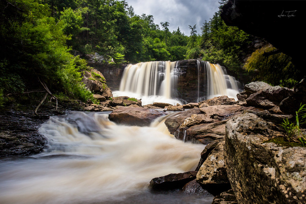 Blackwater Falls (Low Angle) - West Virginia