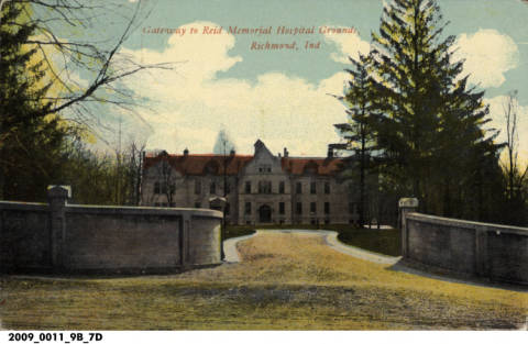 Old Reid Hospital.  Photo from Library of Congress