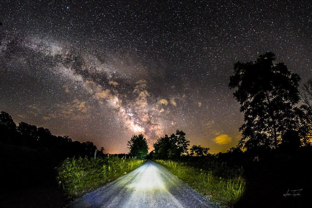 Milky Way at the Waybright Farm