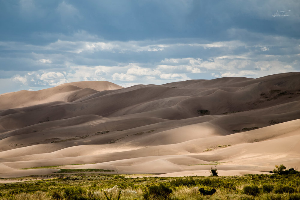 Cloud Shadows at Great Sand Dunes - Colorado