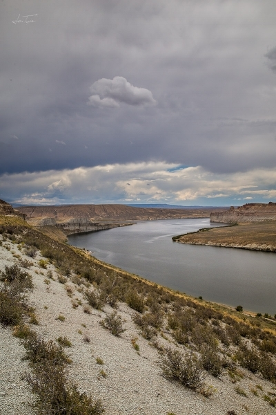 Flaming Gorge Lake, Wyoming
