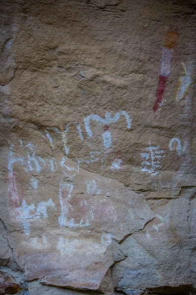 Pictographs, Canyon Pintado