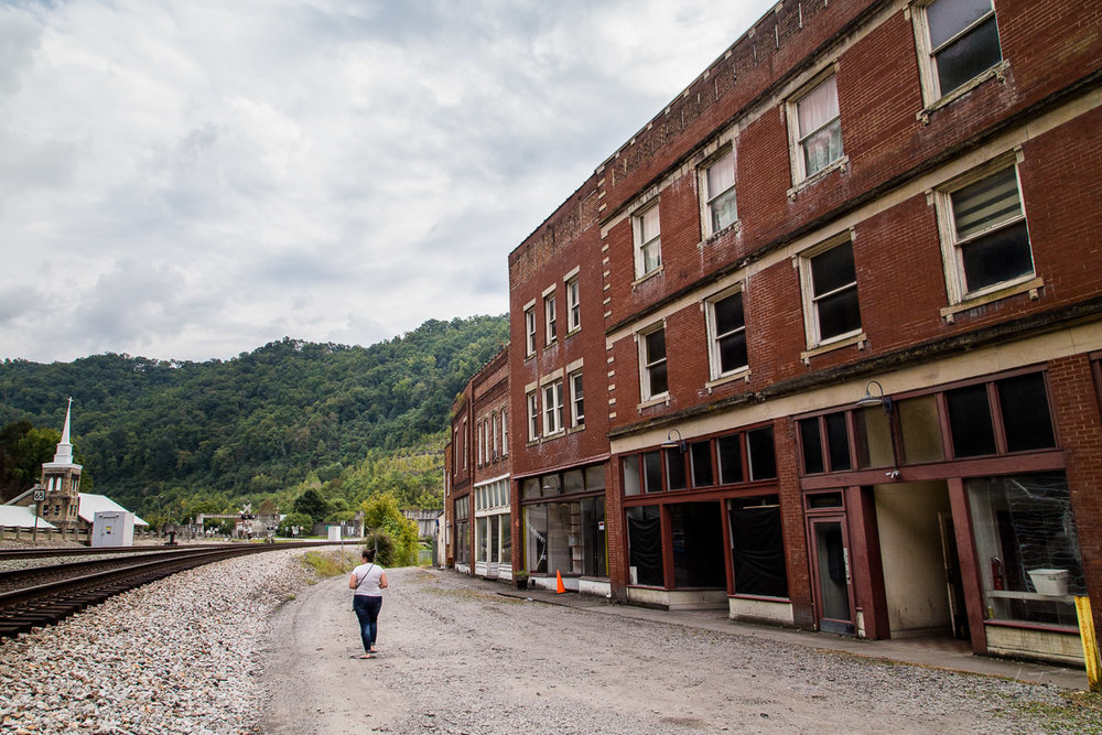 Hatfield Street, Matewan, West Virginia
