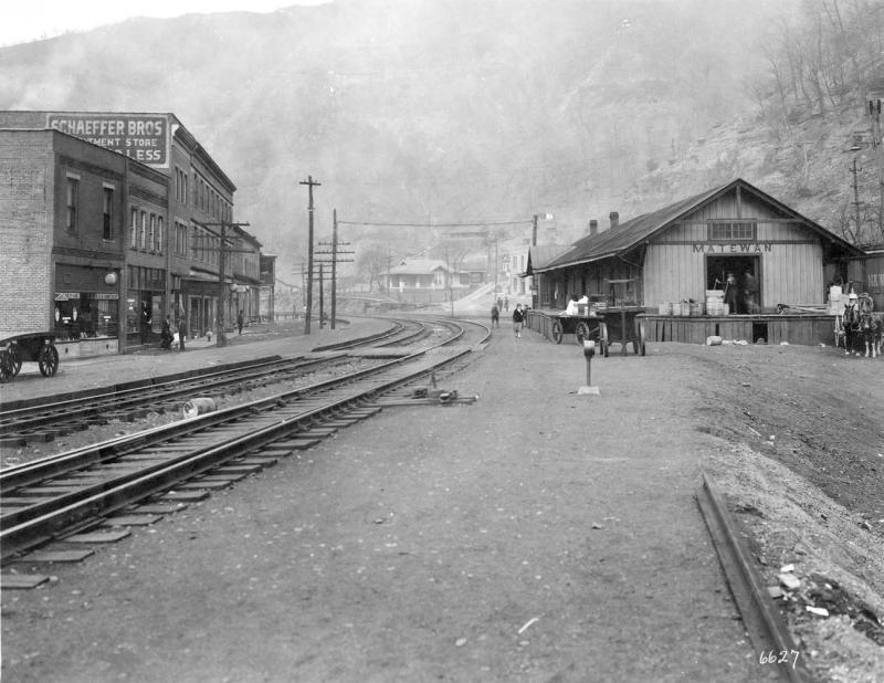 Matewan N&W Station, http://www.wvexp.com/index.php/Matewan,_West_Virginia