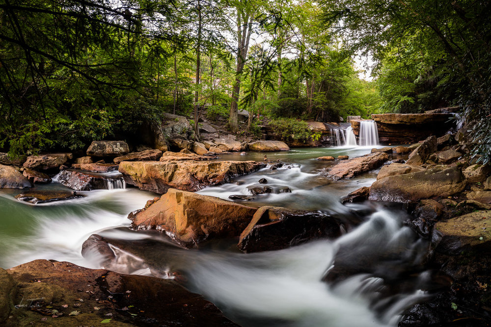 Summer Evening Swimming Hole - West Virginia
