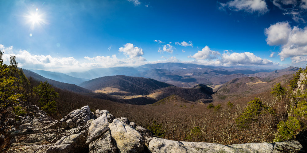 Late Winter on North Fork Mountain