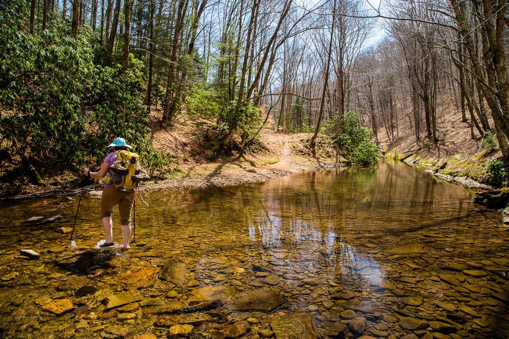 One of Eight Creek Crossings