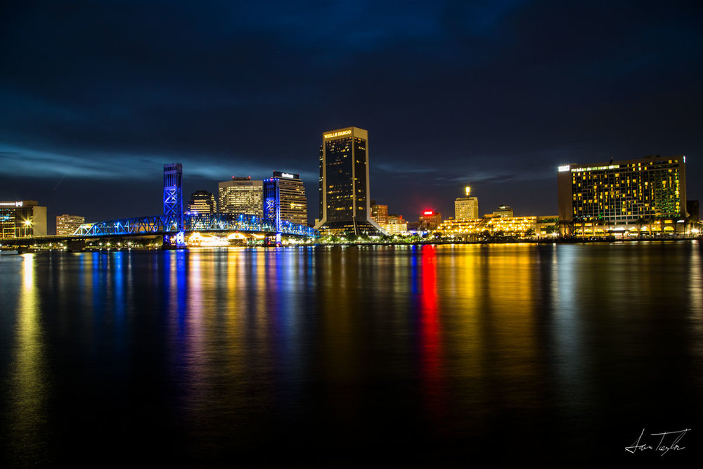 Downtown Jacksonville Skyline - Florida