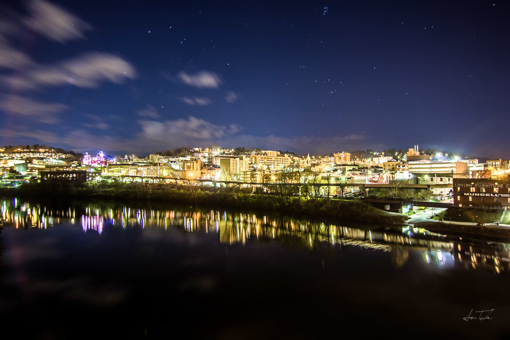 No Moon Over Morgantown - See a few stars?
