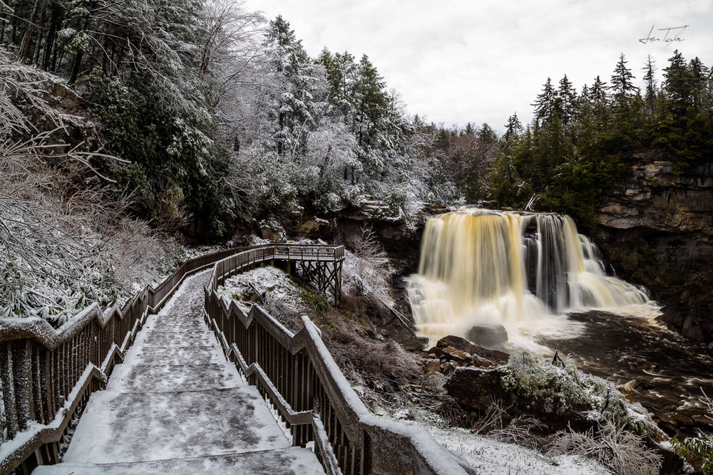 Blackwater Falls (Winter 2019) - West Virginia