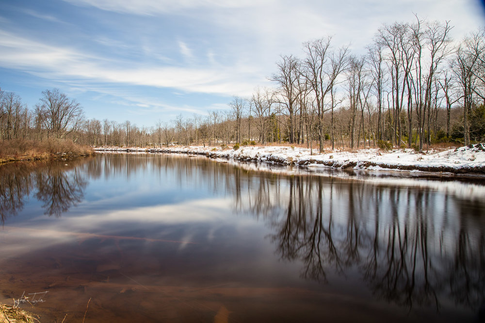 Winter Time Reflections (Blackwater River) - West Virginia