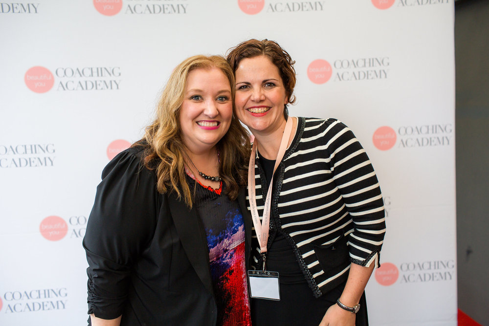 With Julie Parker, CEO + Founder of Beautiful You Coaching Academy     Image: Fi Mims Photography