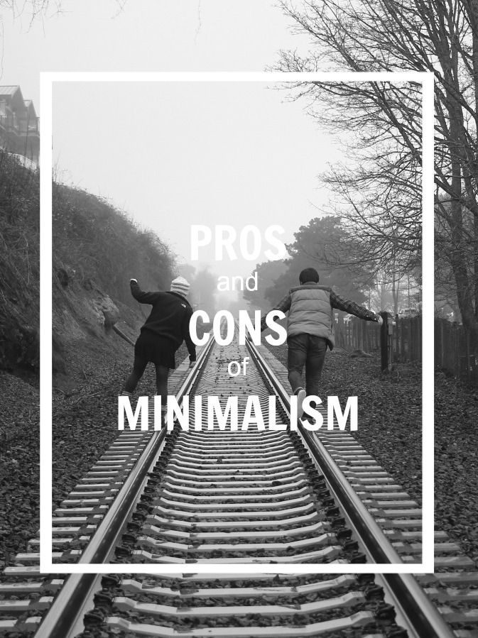pros and cons of minimalism