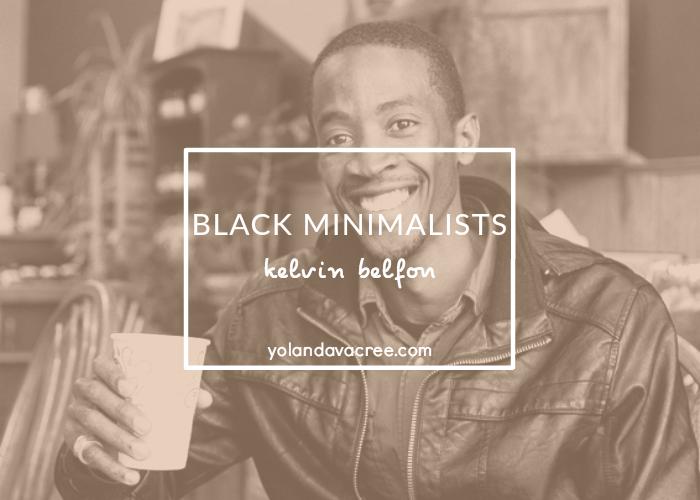 black minimalists kelvin belfon