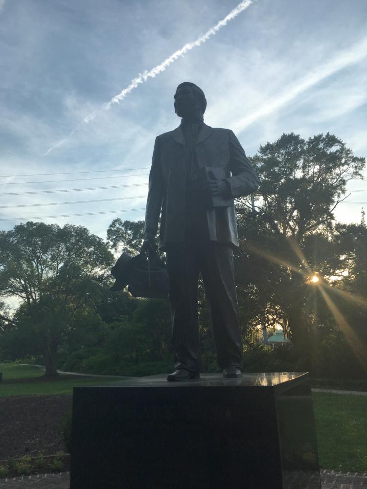 Statue of Denmark Vesey in Hampton Park.