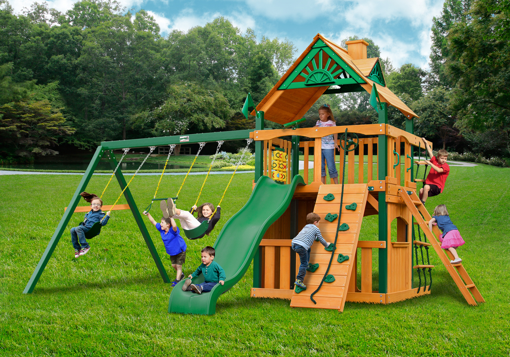 Gorilla Swing Sets Gorilla Playsets Swing Set Paradise
