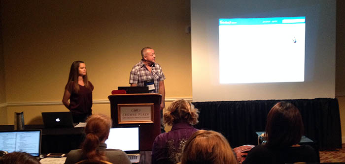 Two presenters from Intuit at Lavacon 2015