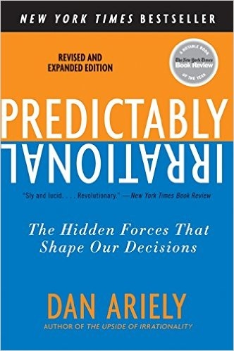 Book Cover, Predictably Irrational