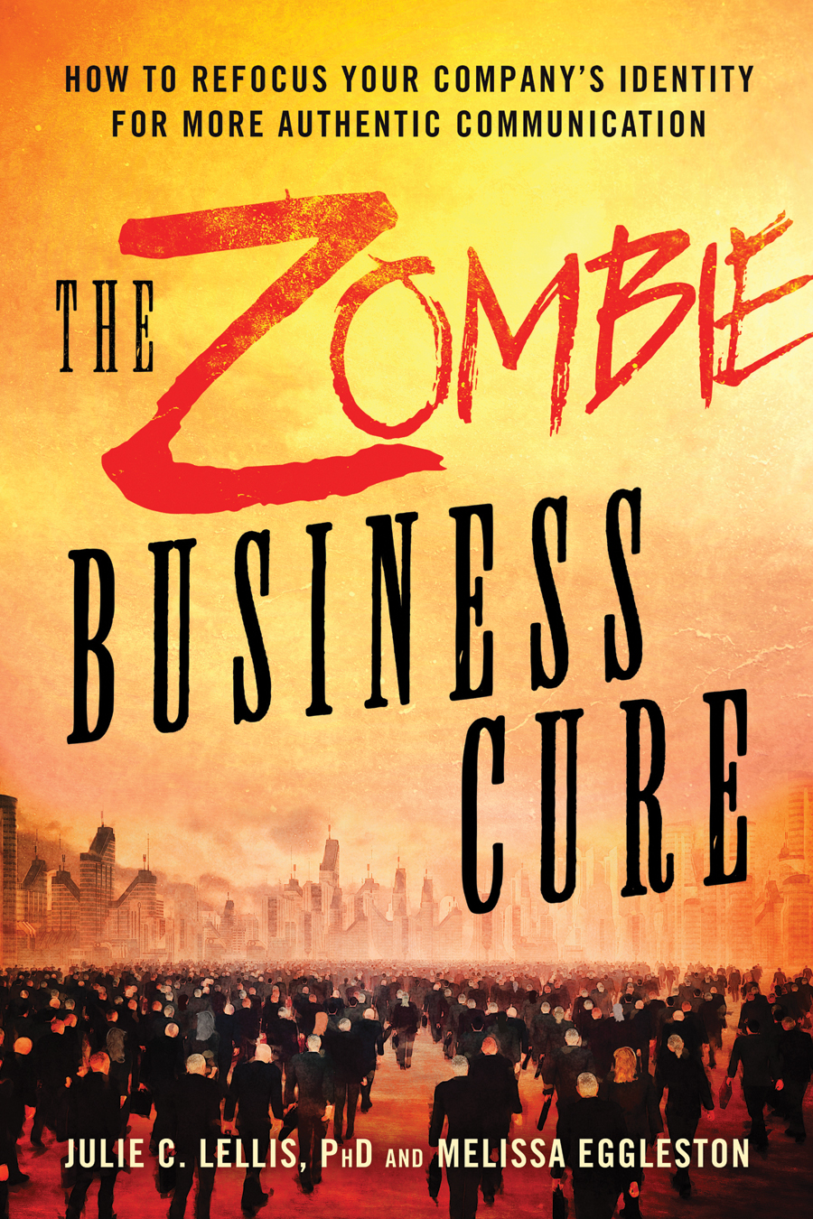 Cover of The Zombie Business Cure book