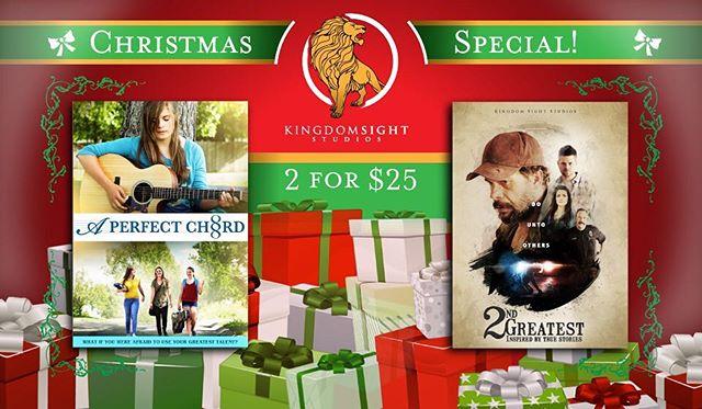 Kingdomsightstudios.com for details! #kingdomsightstudios #christmasgifts #aperfectchord #aperfectchordmovie #2ndgreatestmovie