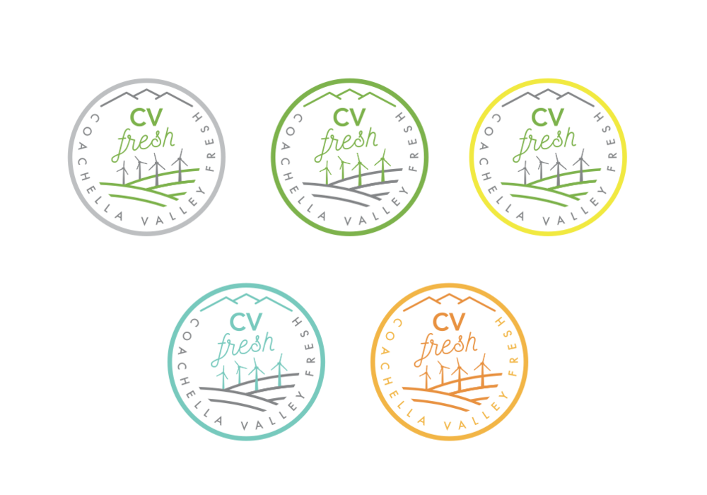 In collaboration with CV Fresh Logo contest winner - 2014