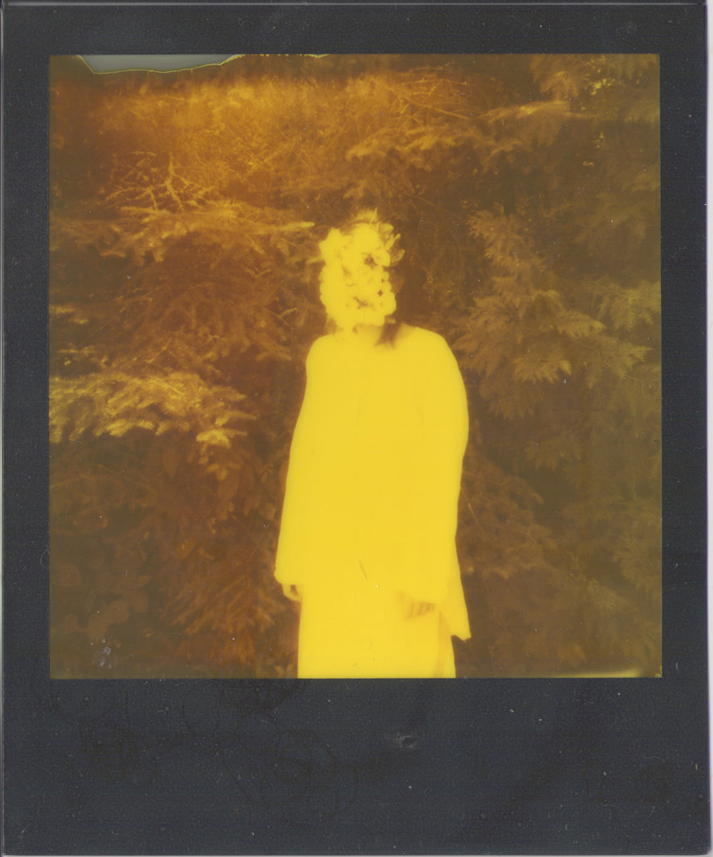 Polaroid outtake from the shoot.