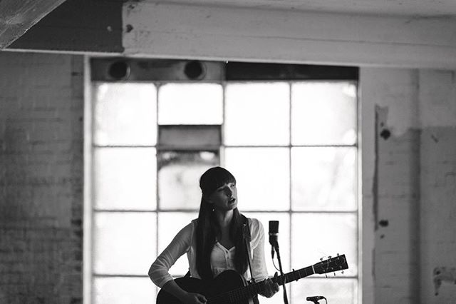 """We've got the latest episode of #oldbuildingsessions up on the site now. Featuring @grettaray's """"When We're In Fitzroy"""" & @ainsliewills breathtaking cover cover of #eurythmics """"Here Comes The Rain Again"""". #linkinbio"""