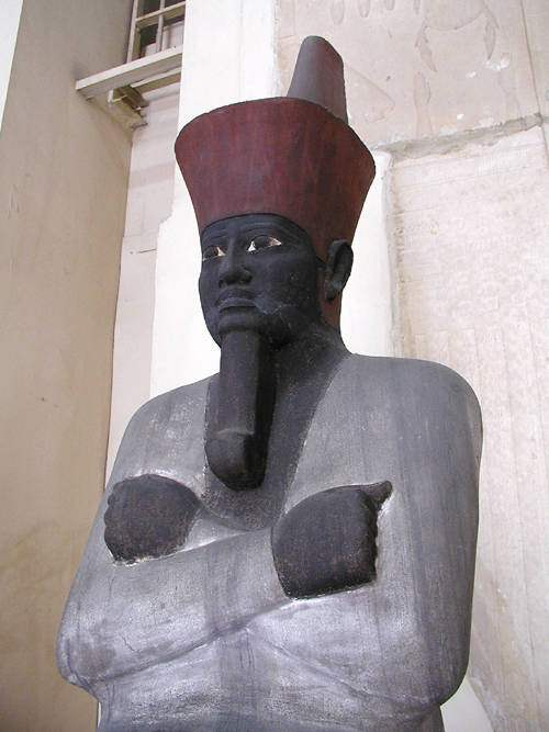 Mentuhotep II of the 11th Dynasty. Were Ancient Egyptians Black? Clearly he was.