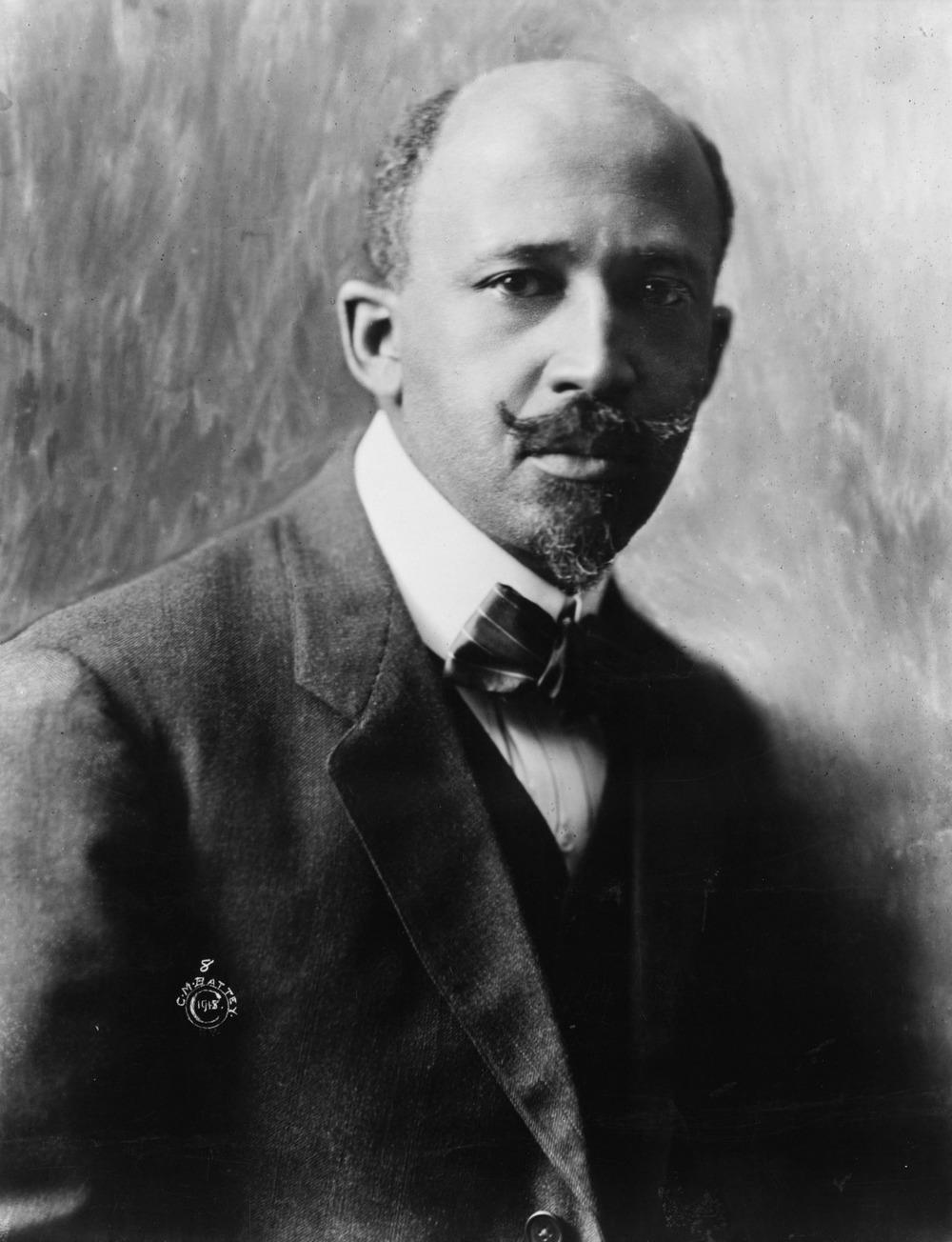 W.E.B. Dubois in 1918