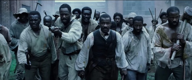 The Birth of a Nation by Nate Parker tells the true story of the Nat Turner slave rebellion in 1831