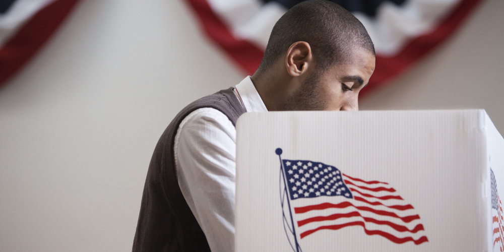 Young Black voters like the man pictured here may decide the outcome of the General Election.