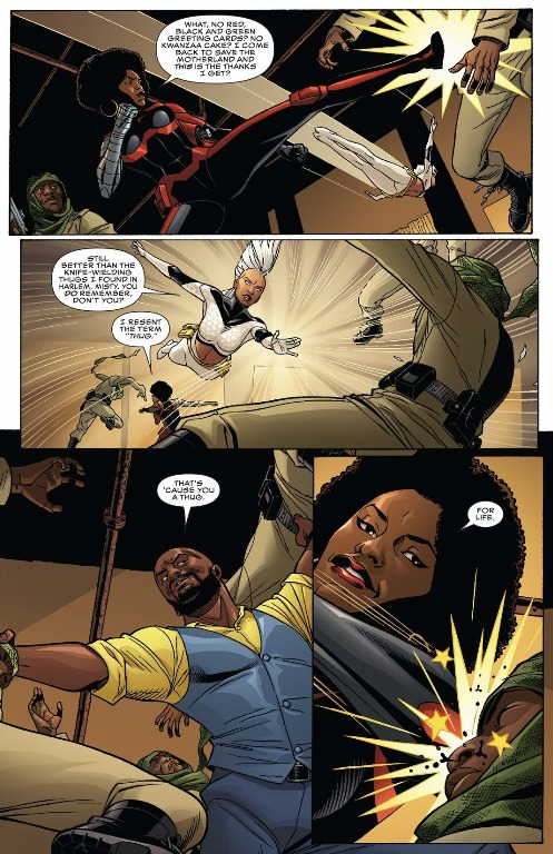 "Luke Cage, Misty Knight and Storm handle ""The People"" with ease."