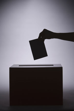 Picture of a ballot box