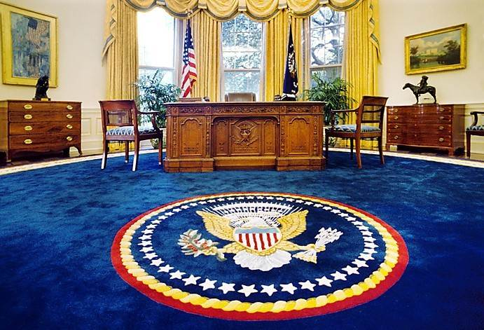 Trump will now occupy the Oval Office for the next 4 years...let that sink in...