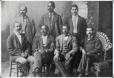 Black business owners of Black Wall Street