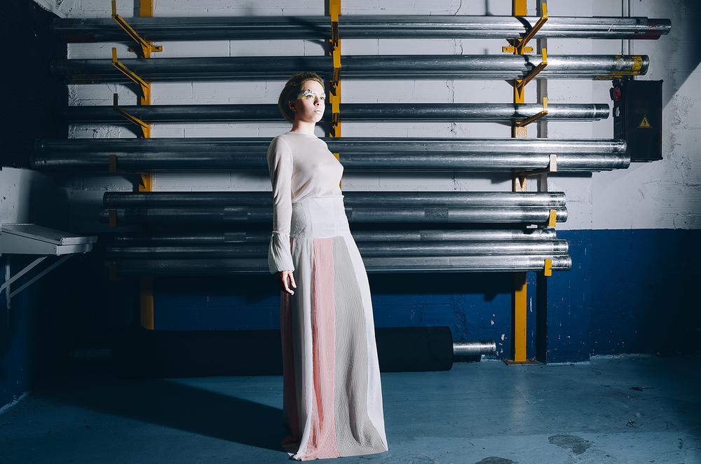 Design: Karina Ferrando  Photo & Retouch: Clàudia Sauret Verdejo  MUA: Claudia Alquezar  Model: Marta Torras