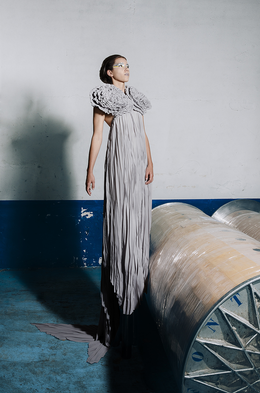 Design: Karina Ferrando  Photo & Retouch: Clàudia Sauret Verdejo  MUA: Claudia Alquezar  Model: Laura Ripoll