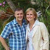 THE RIVER TEAM  -  Thailand - Tim and Bronwyn have served in Thailand with The River Team since 2007. Their main role is to help initiate and facilitate the launch of new works and ministry areas through daily mentoring/ life coaching of Thai team members and volunteers and developing and implementing programs and strategies to bring about transformation of whole communities. They have ministered to thousands of kids, trained hundreds of school teachers and principals, facilitated short-term mission trips for teams and have encouraged and trained numbers of rural Pastors.www.theriver.asia.